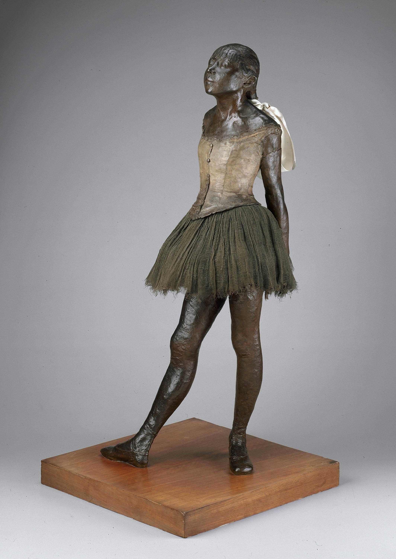 Little Fourteen Year Old Dancer, Edgar Degas, original model