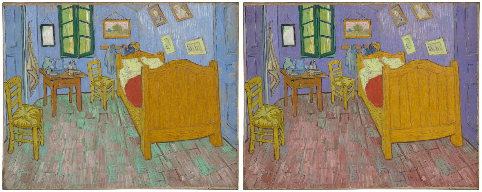 The walls in Van Gogh\'s iconic \'The Bedroom\' were never meant to ...
