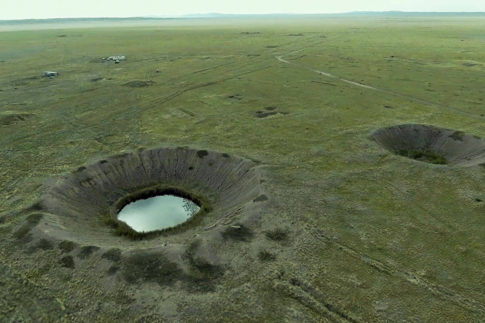 Polygon craters