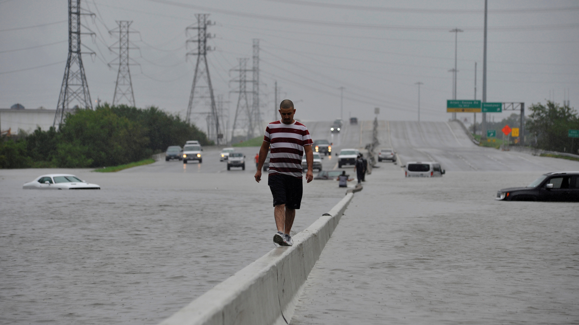 Houston struggles with massive flooding and more rain in ...