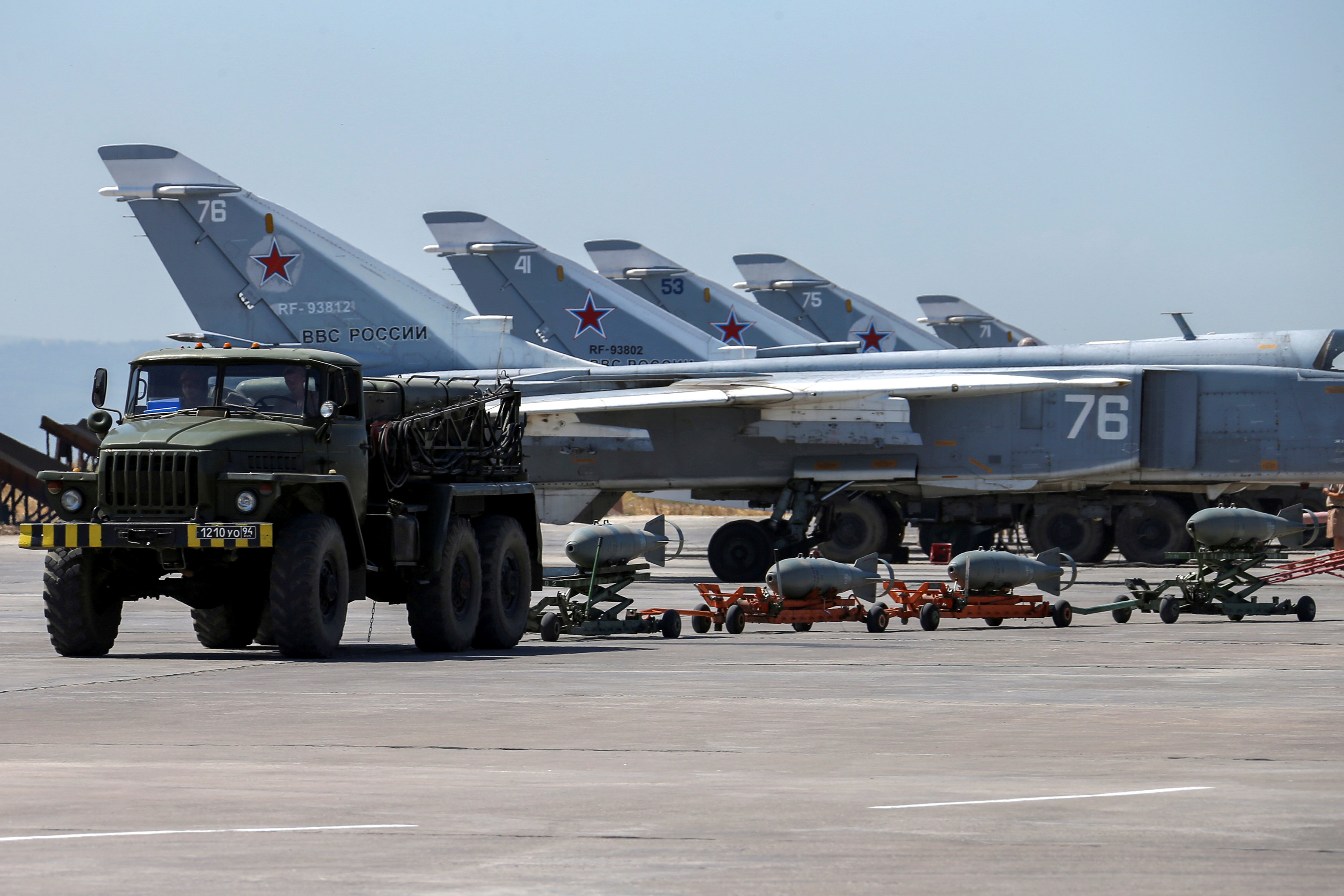 Russia Syria Air Base