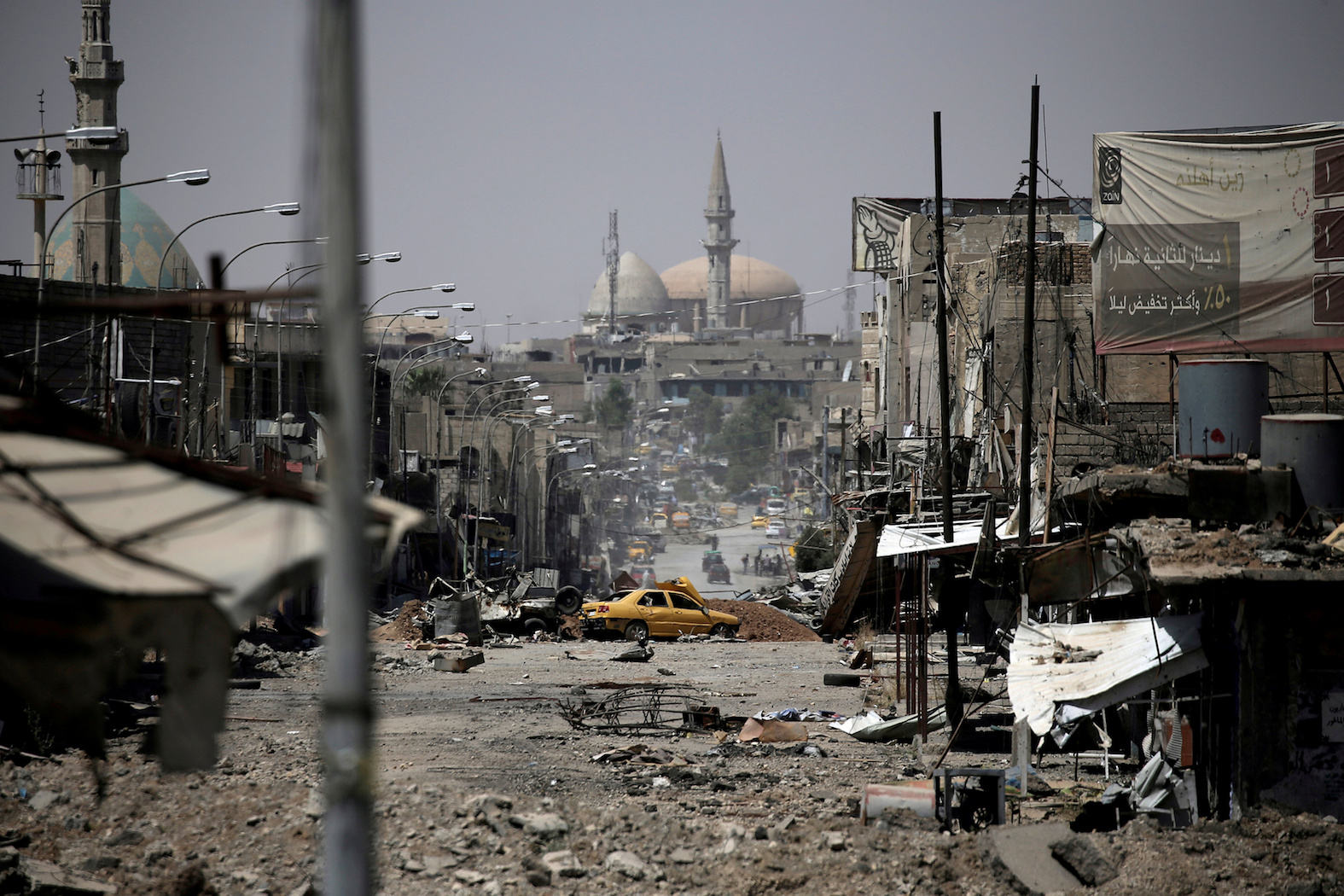 A view of part of western Mosul, Iraq, on May 29.