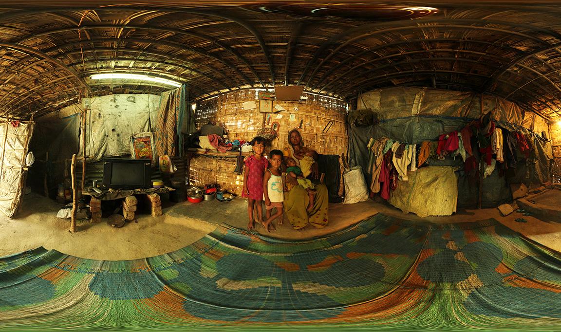 Panorama slum