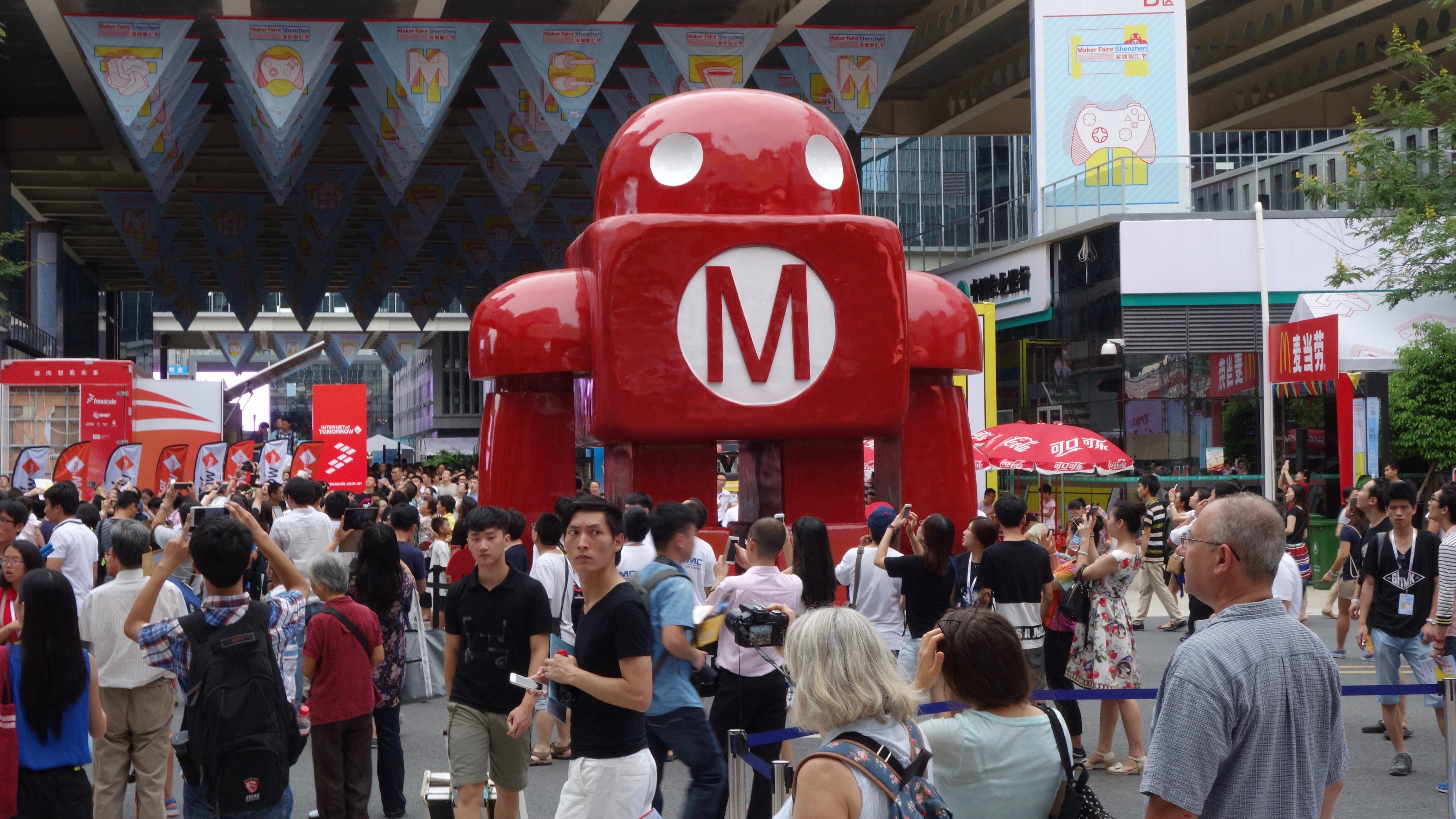 Shenzhen Maker Faire, June 2015