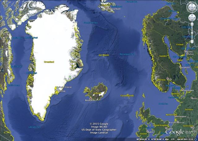 Google Greenland