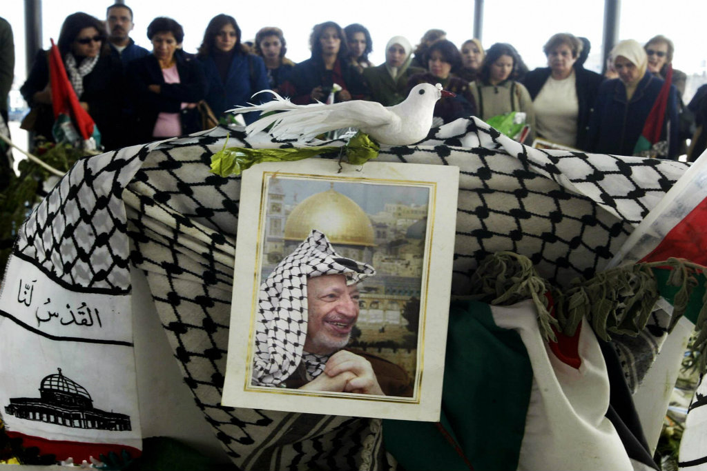 Image result for yasser arafat death