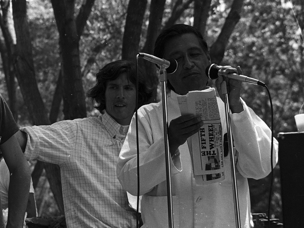 Cesar Chavez, June 1974