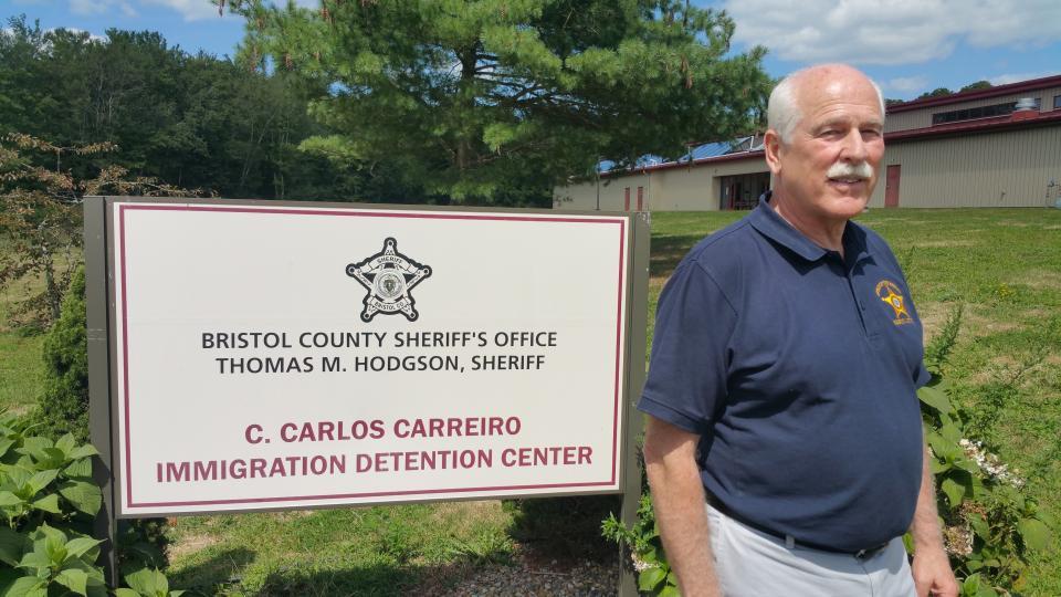 Sheriff Thomas Hodgson, who runs the Bristol County Jail