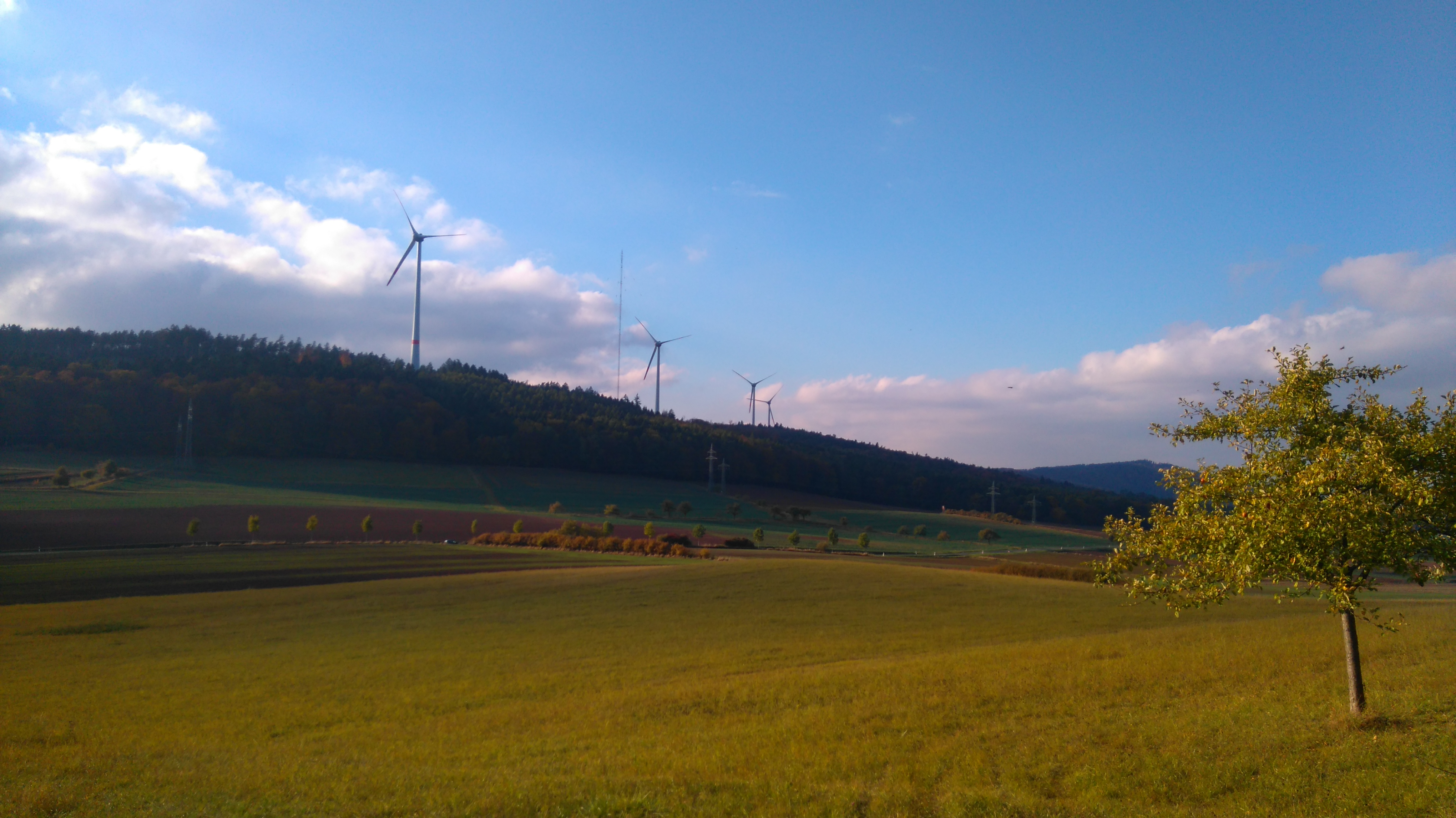 Wolfhagen boasts four windmills, a 42,000-panel solar farm and two biogas facilities that turn waste into energy.