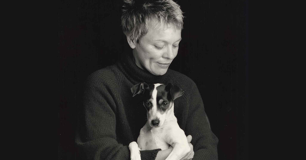 Laurie Anderson with Lolabelle