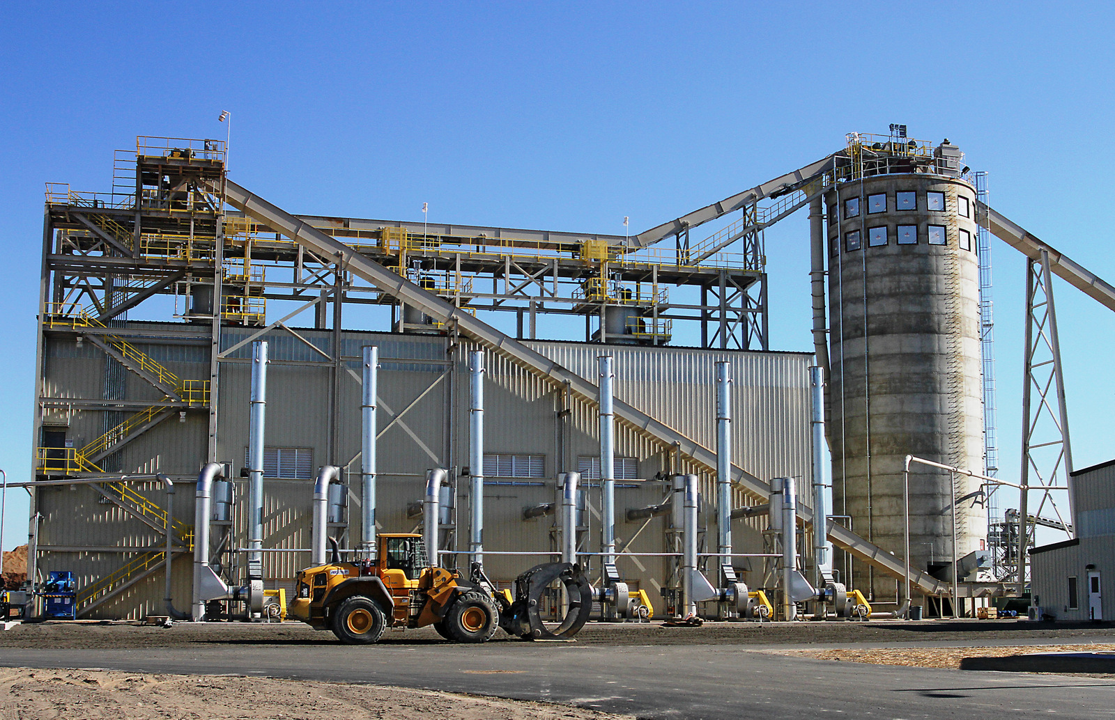 wood pellet facility in Virginia