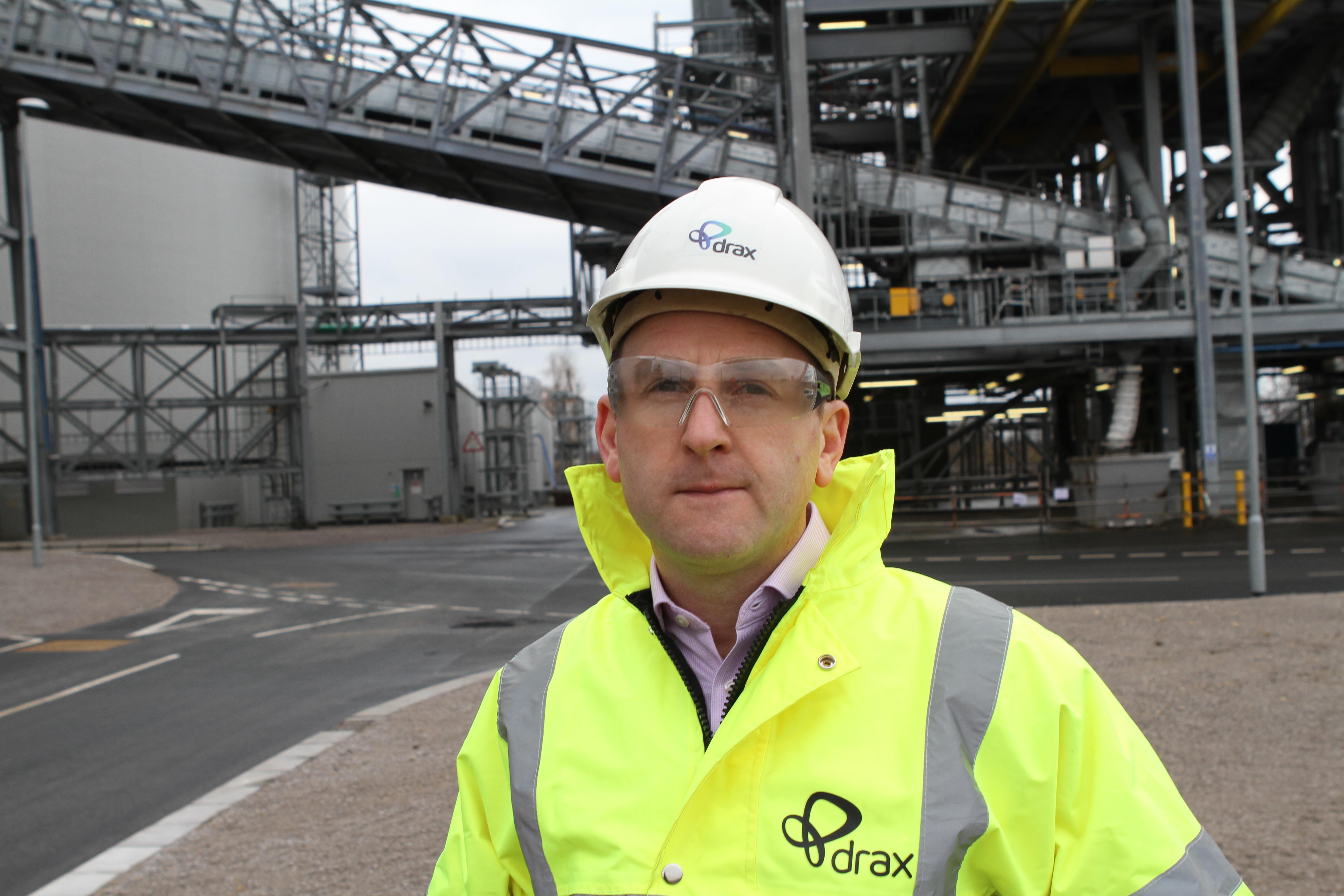 Andy Koss, Drax power CEO