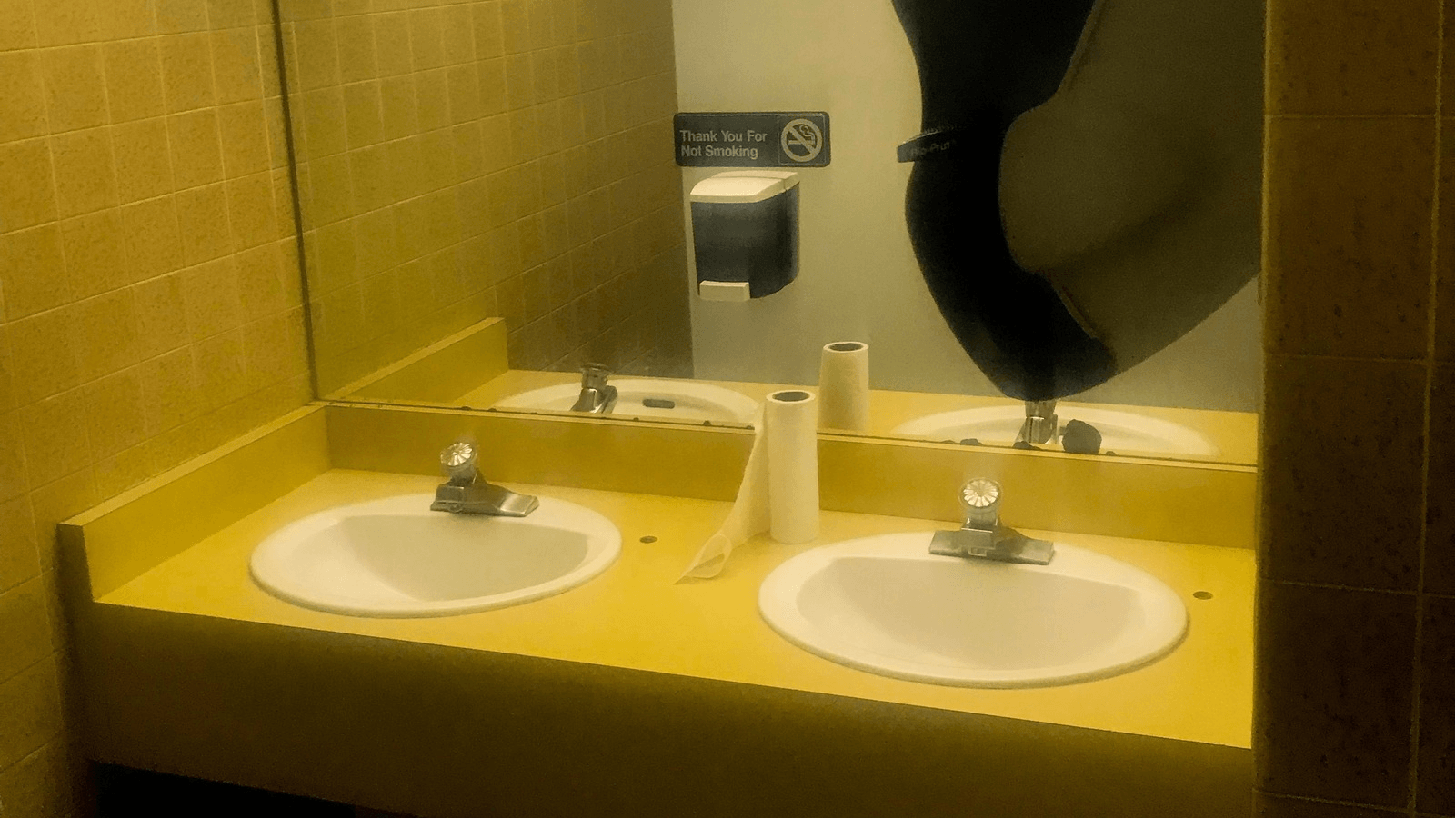 sinks where migrant children allegedly bathed in Phoenix
