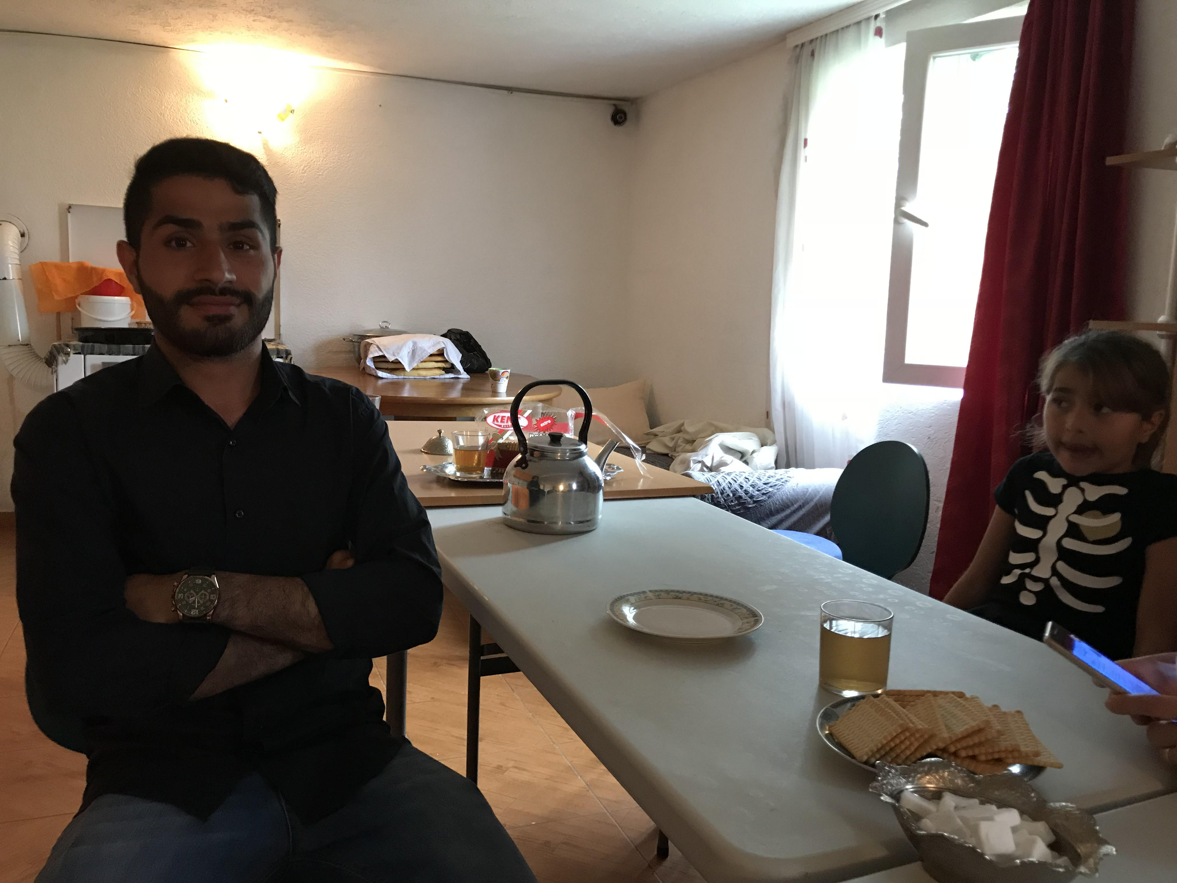 Muhsin Saafi, a refugee from Afghanistan, at an NGO-sponsored safe house in Bihac, Bosnia. He and his family have spent two years trying to reach Germany.