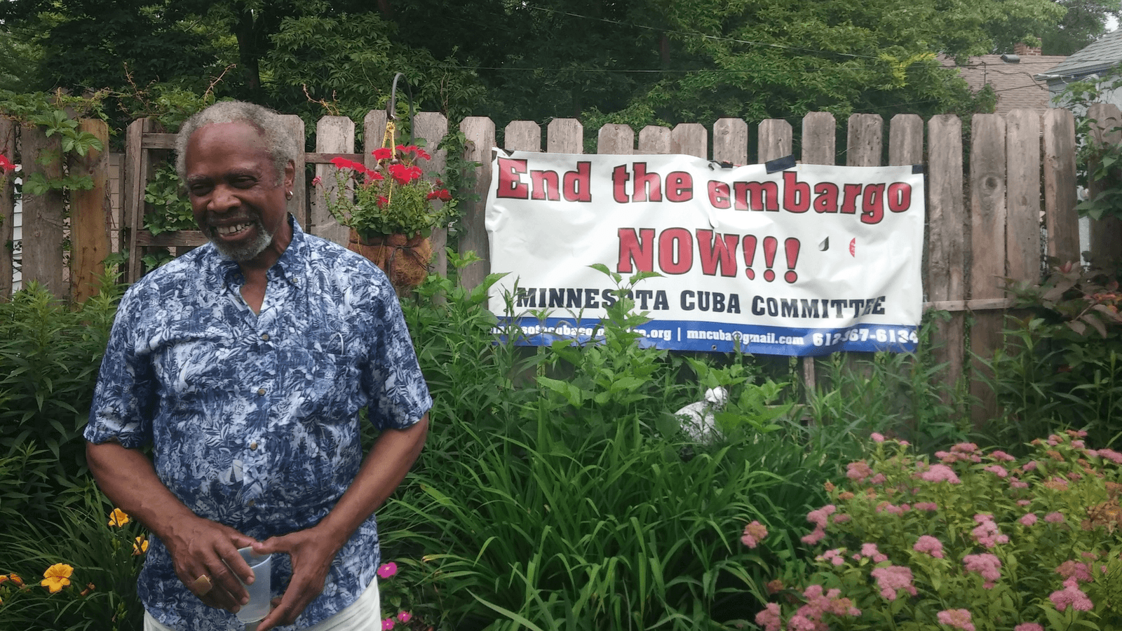 a meeting of a pro-cuba group in minnesota