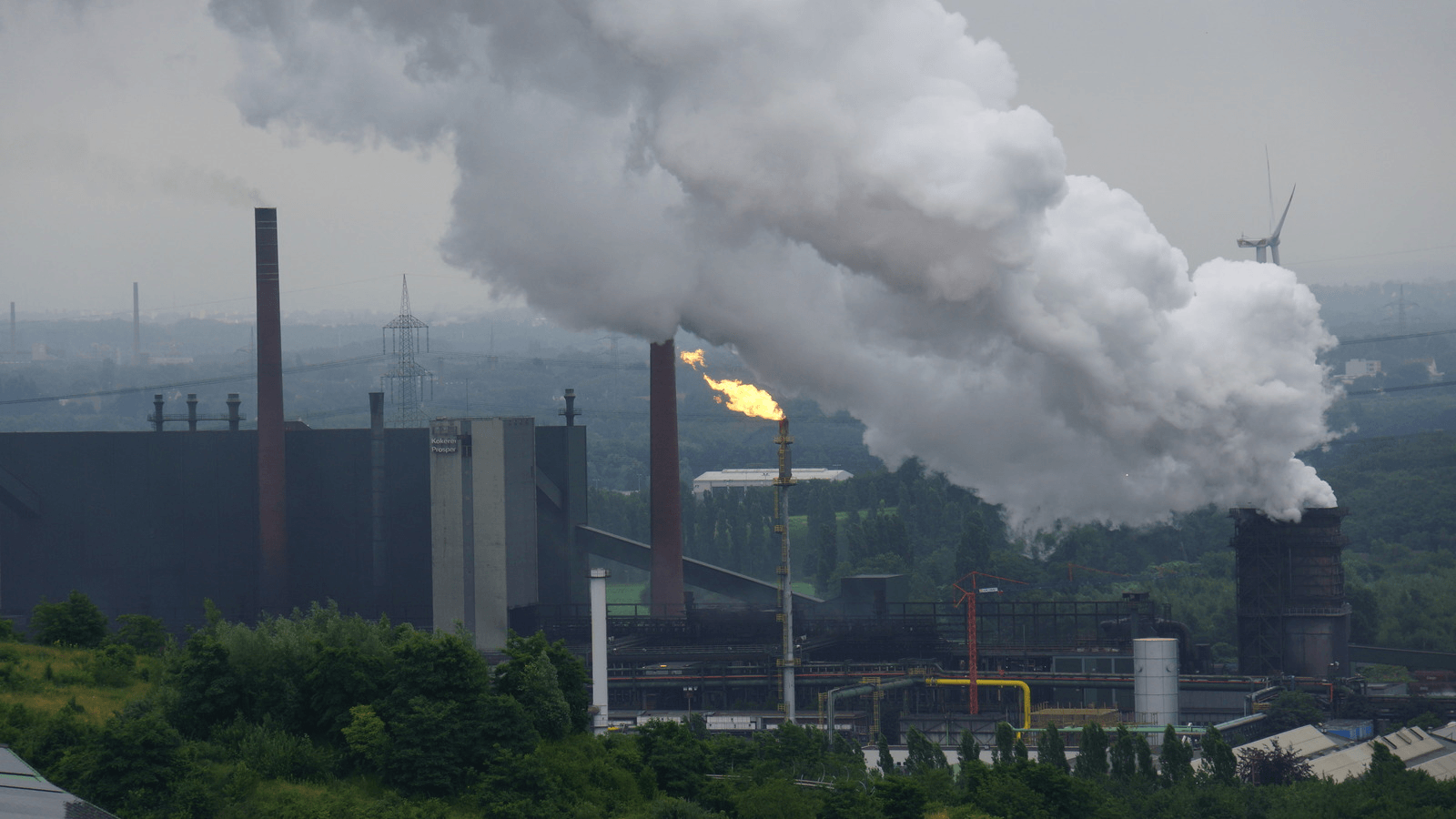 coal power plant in germany burns dirty