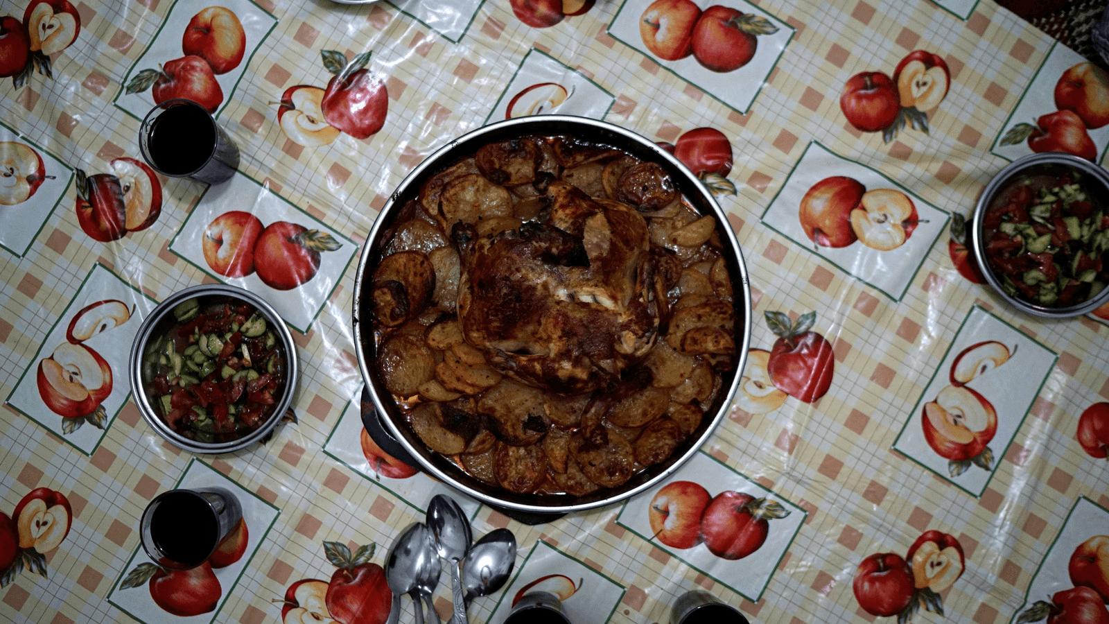 syrian food served in turkey