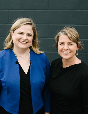 PRI President and CEO Alisa Miller and PRX CEO Kerri Hoffman
