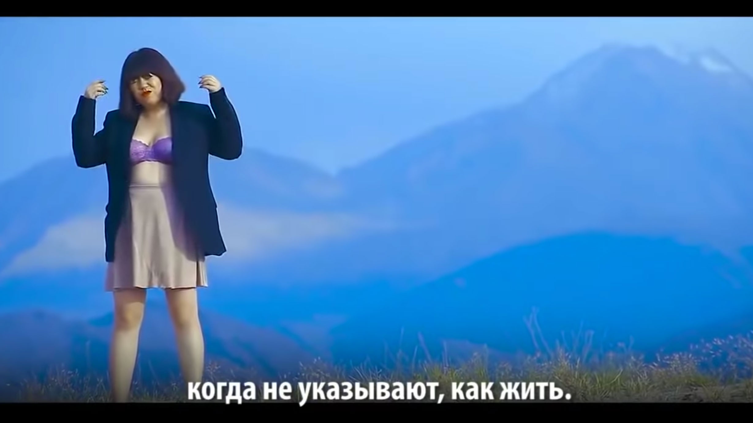 This Kyrgyz singer is getting death threats after releasing a music video and a song about women's rights