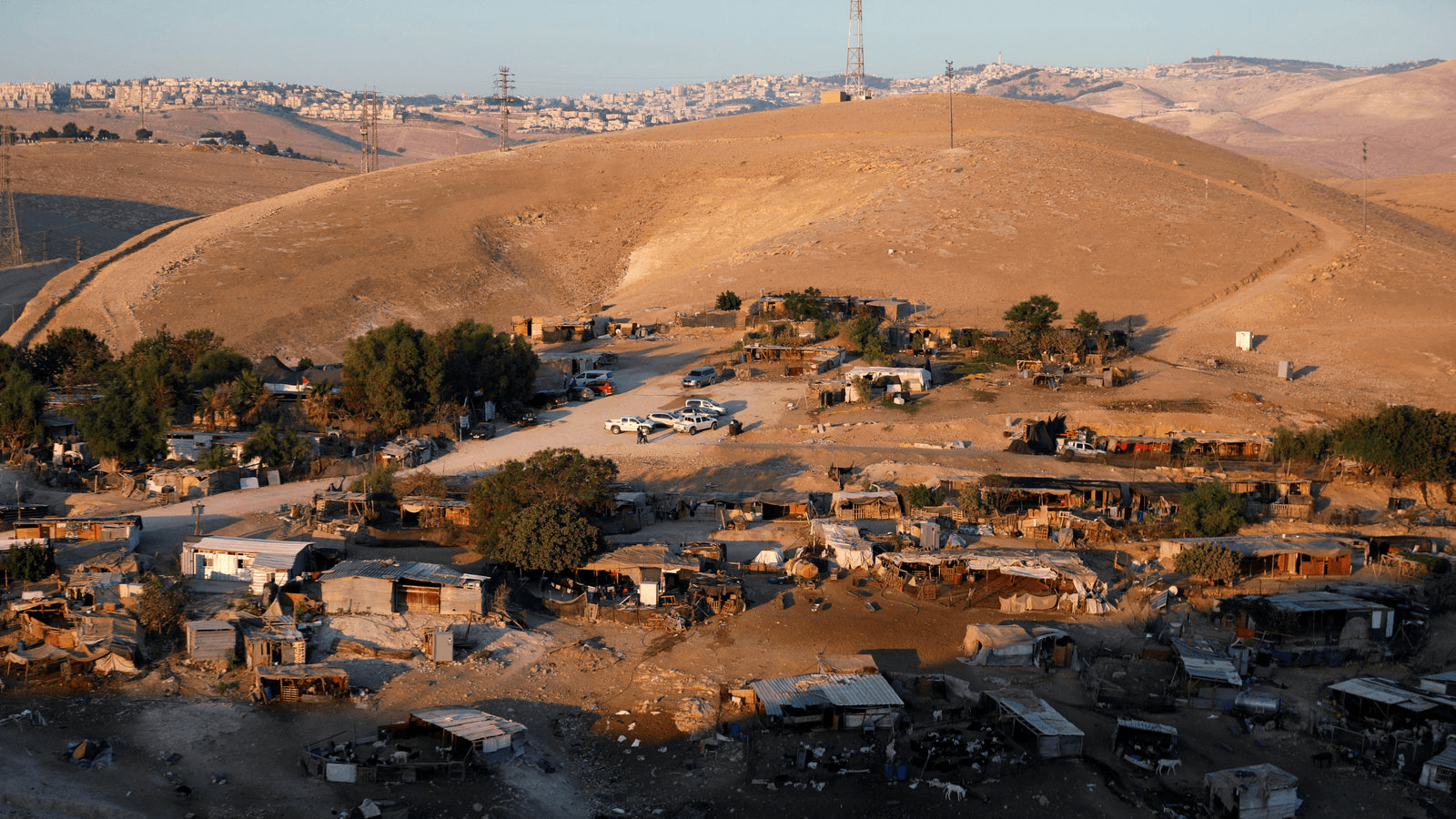 a bedouin village in israel