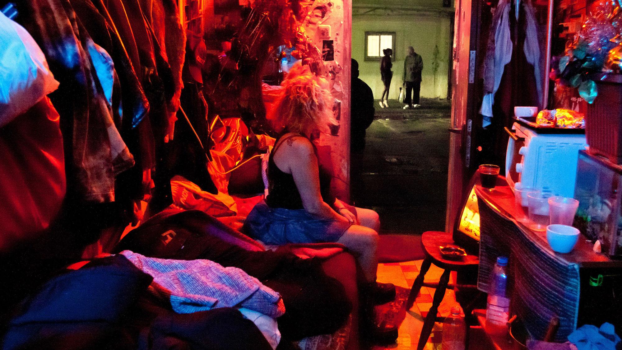 Why do girls go into prostitution
