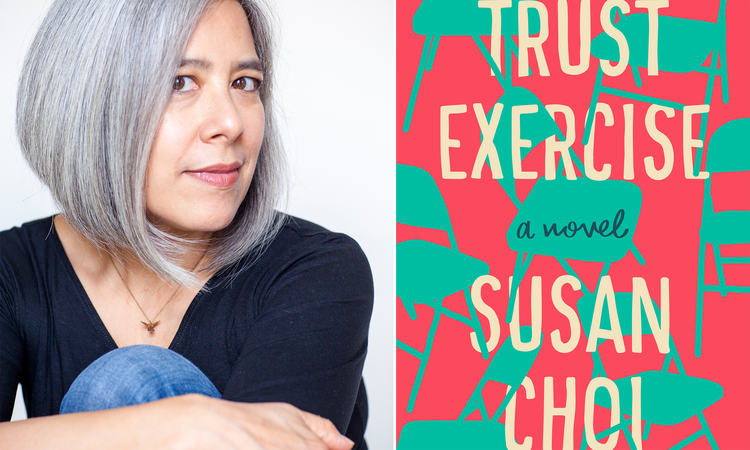 "Susan Choi and her new novel, ""Trust Exercise."""