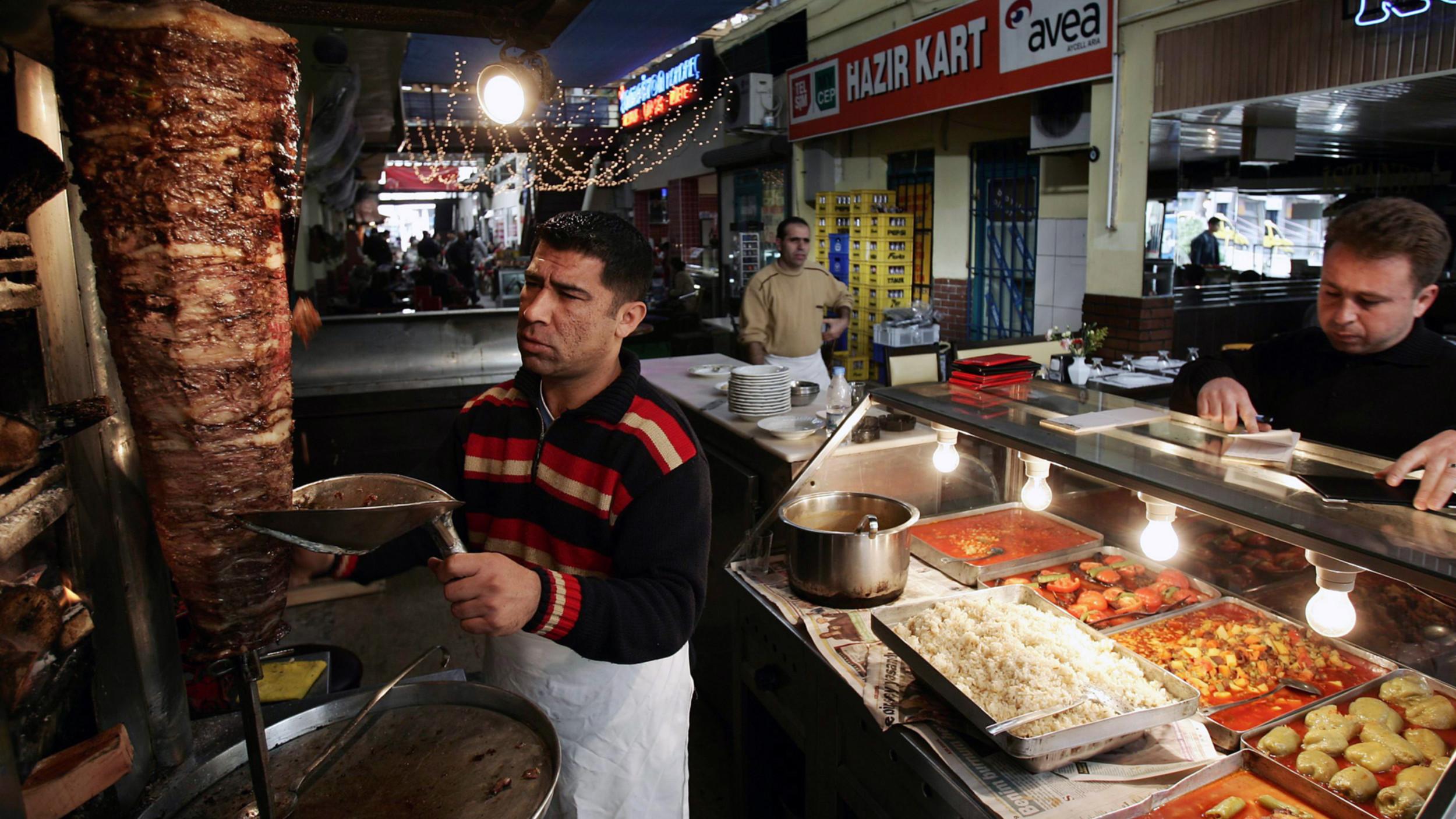 doner kebabs for all