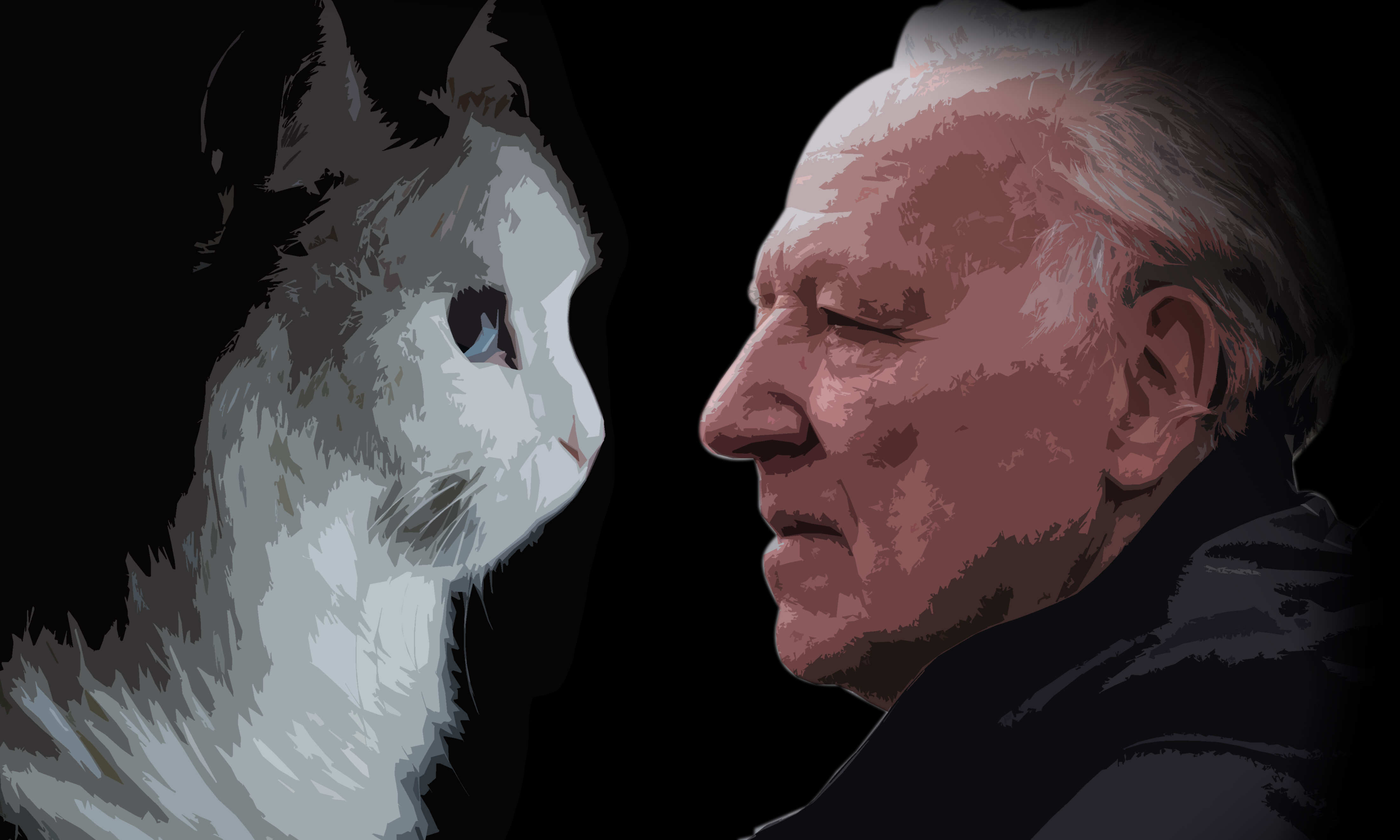 The muse and the master, Werner Herzog.