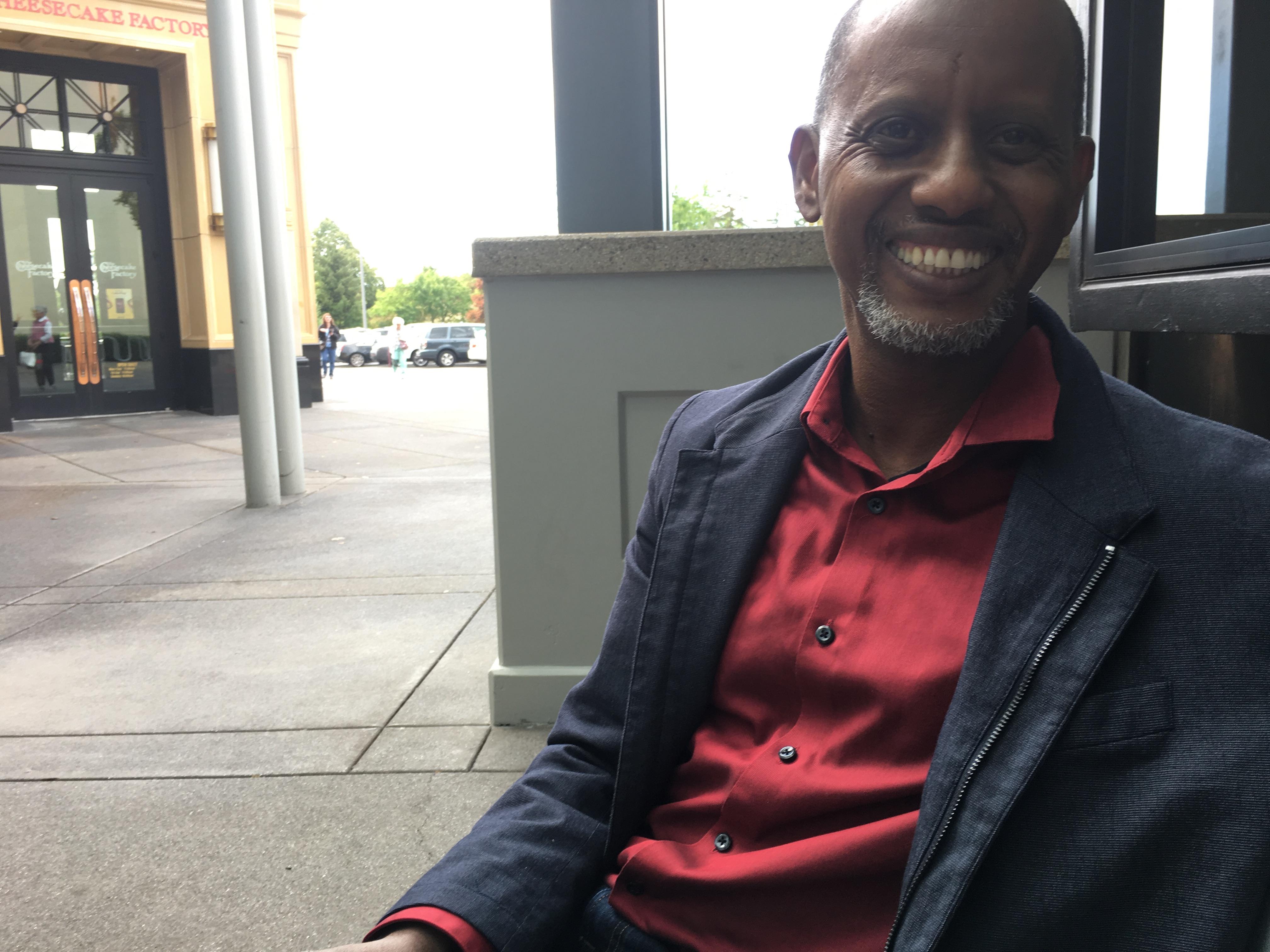 Kayse Jama of the nonprofit Unite Oregon