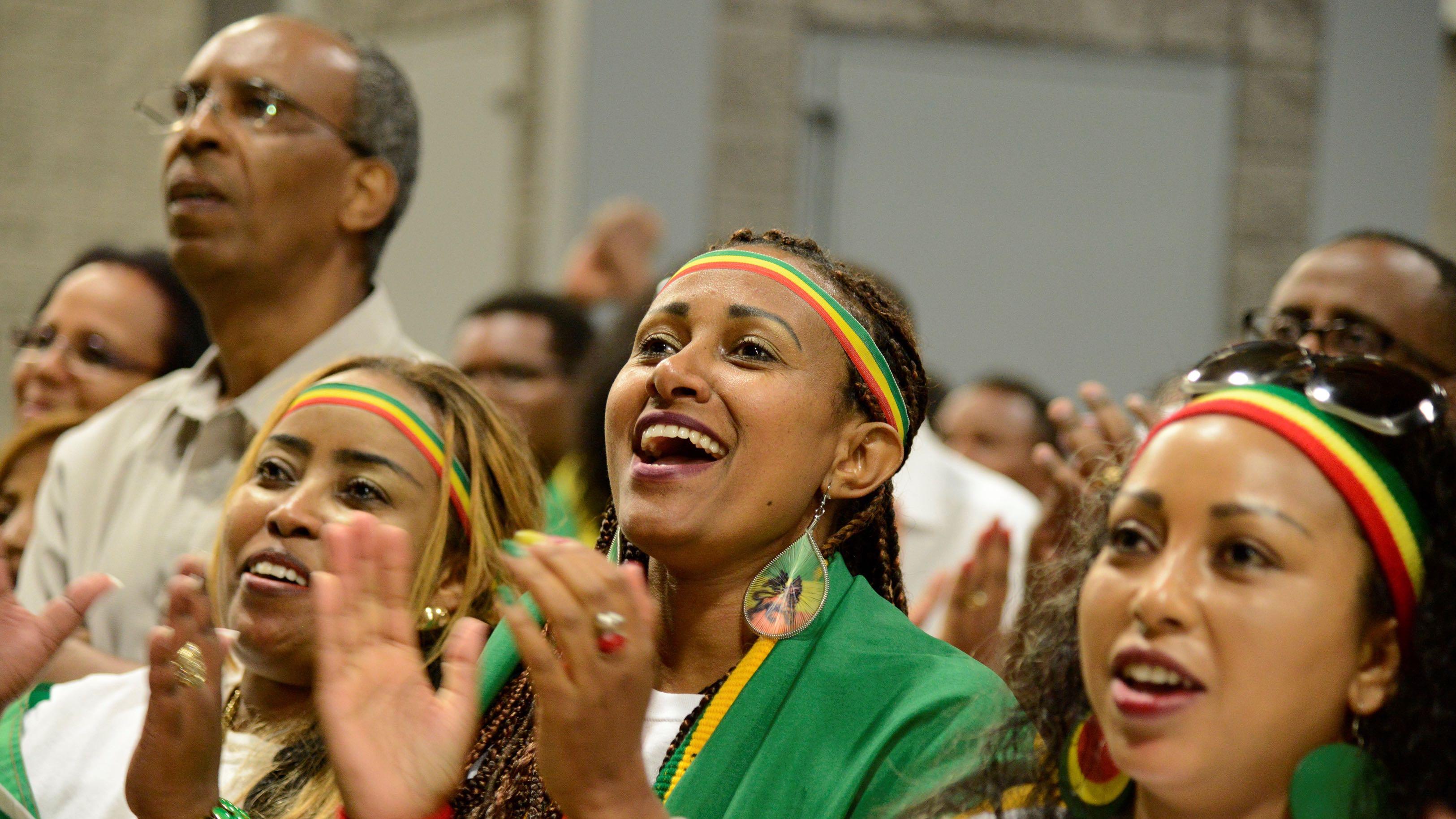 members of the Ethiopian diaspora