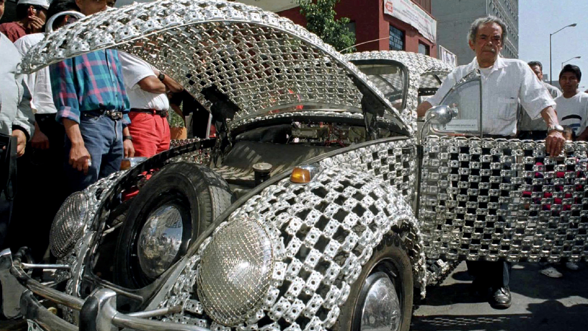 a custom vw beetle in mexico