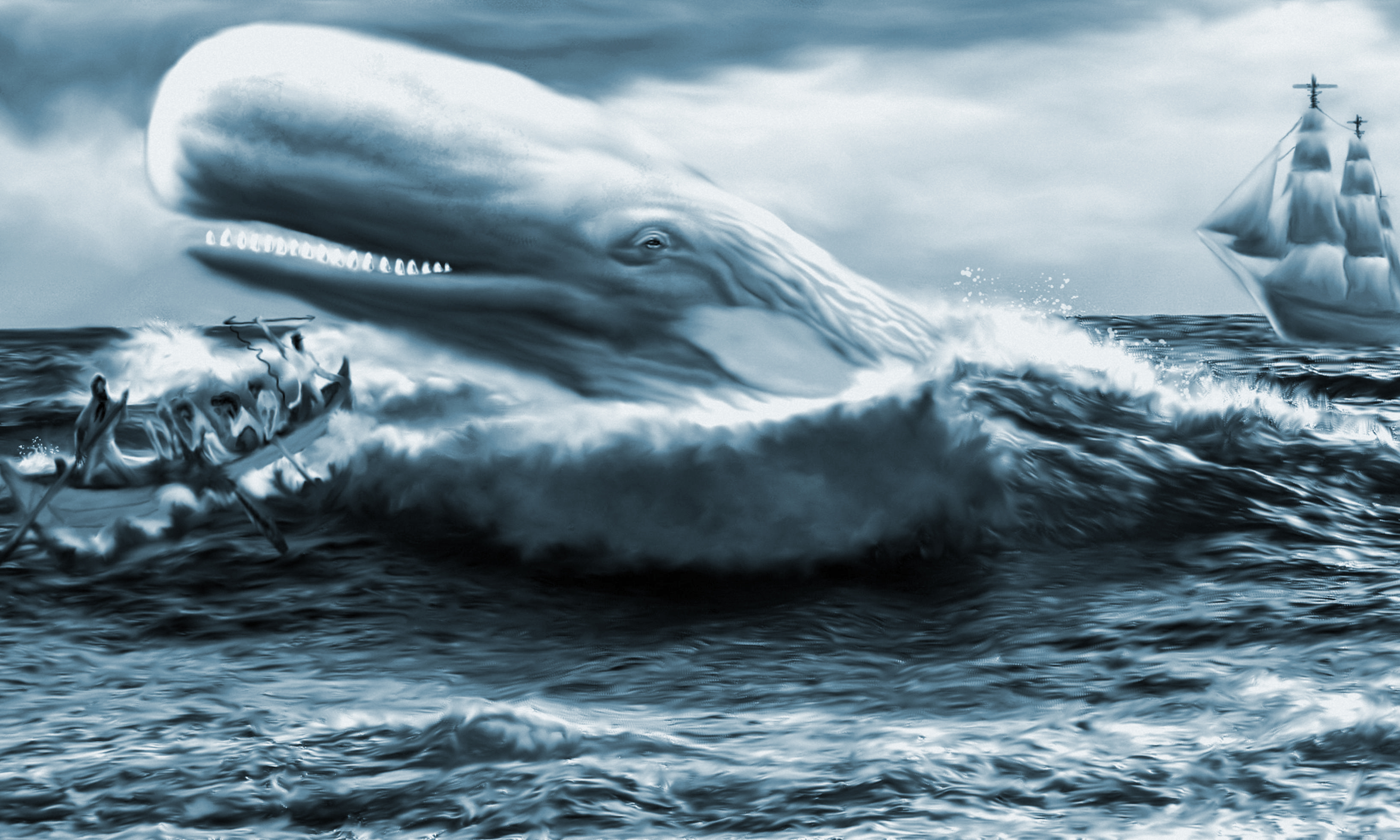 The hunt for the great white whale.