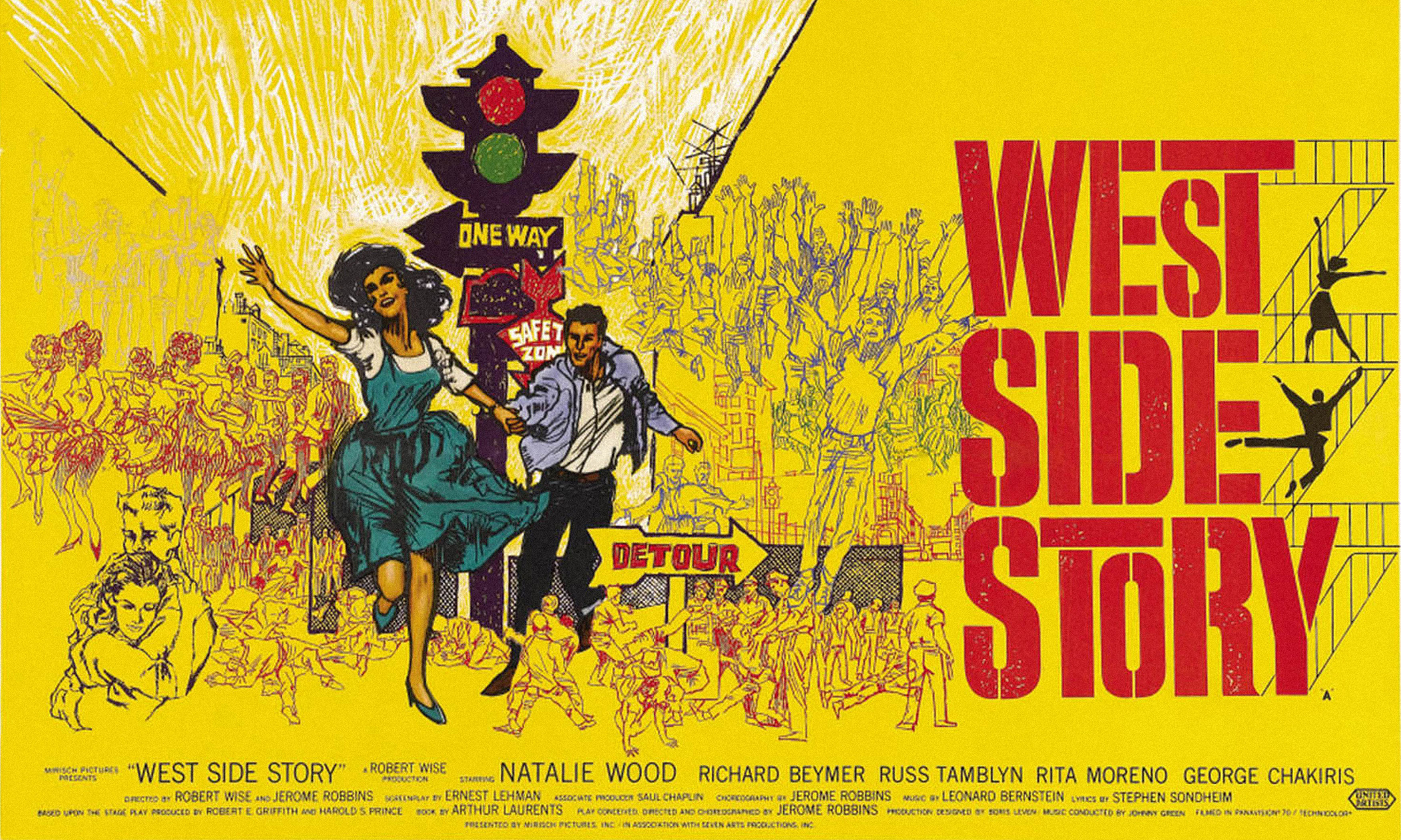 """A 1961 movie poster for """"West Side Story."""""""