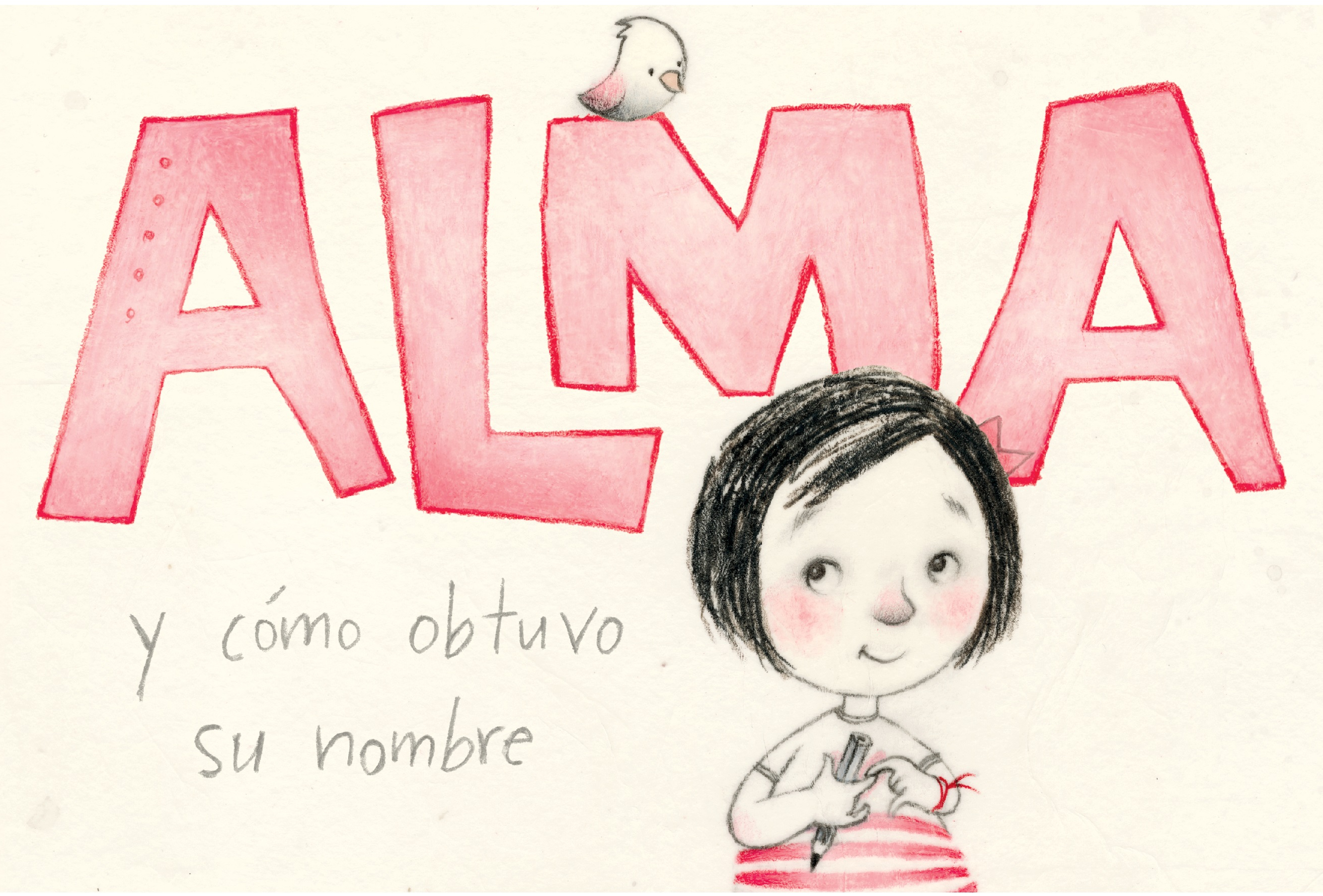 """The cover of """"Alma and How She Got Her Name"""""""