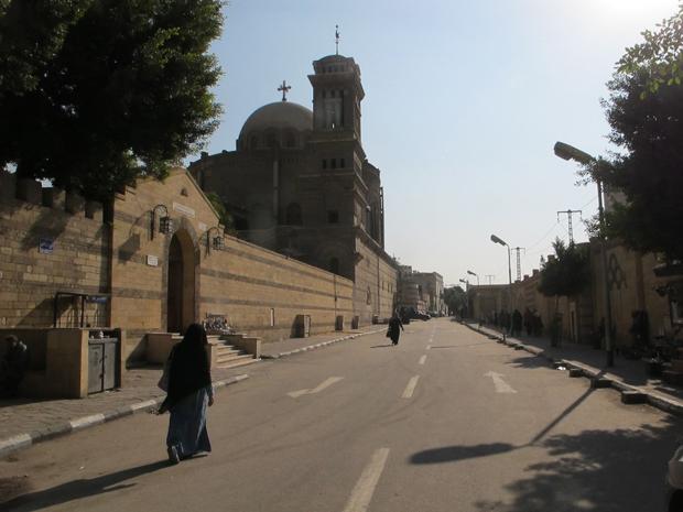 Coptic Church Egypt Cairo Old Coptic Church in Cairo