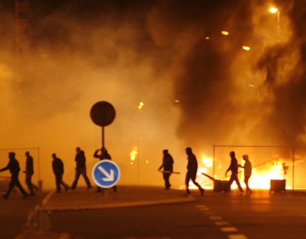 Riots Paris 2007 France-2007-riot