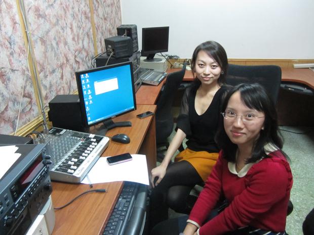 Huang Yuan Yuan at work