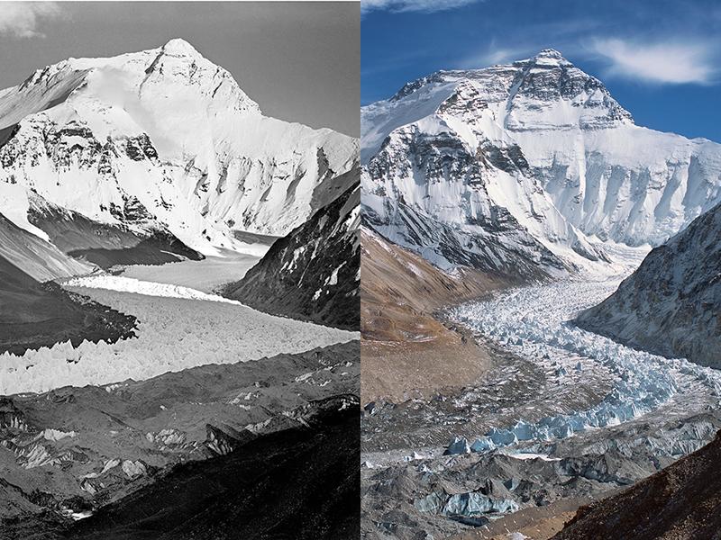 Himalayan Mountain Glaciers Show Signs Of Global Warming