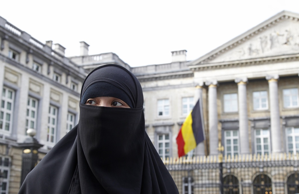 A French Muslim in Belgium - no longer allowed to wear her niqab