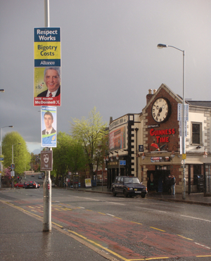 British election posters