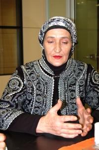 Bosnian rape survivor Semka Agic.