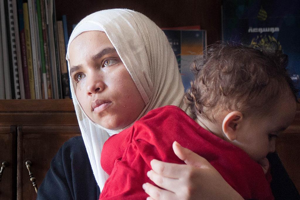 Salima Dakani, 19, was married at 16.
