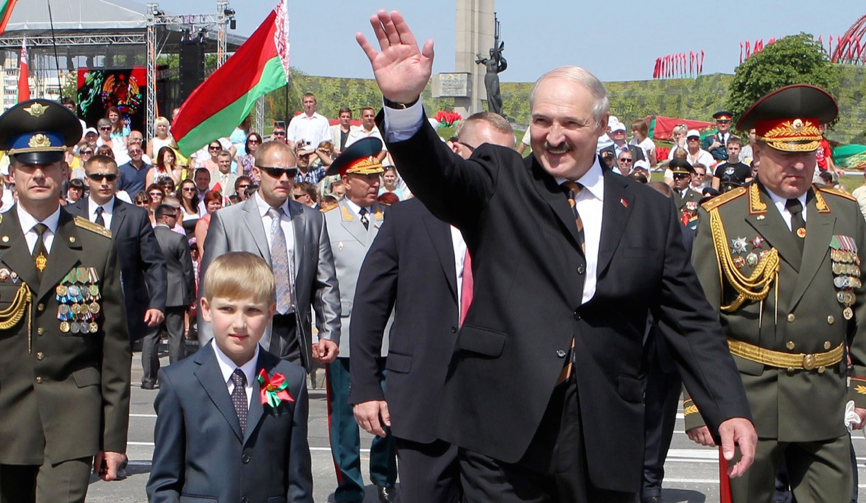 Belarus president and son