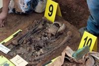 Las Dos Erres exhumation