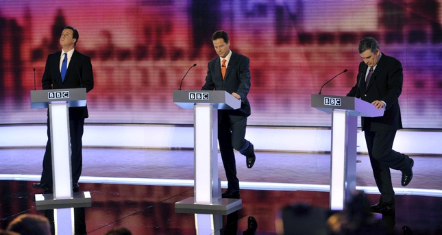 UK elections photos, debate