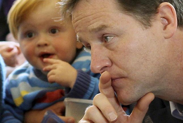 UK elections photos, Nick Clegg