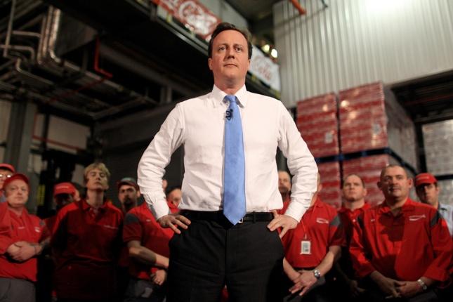 UK elections photos, David Cameron