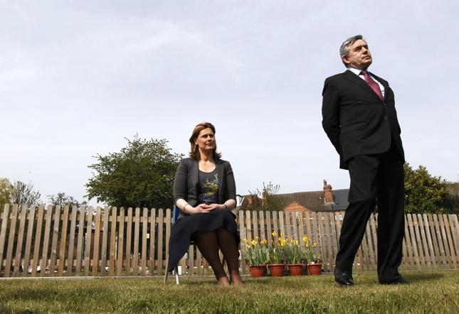 UK elections photos, Gordon Brown wife