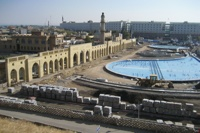new fountain installations in erbil