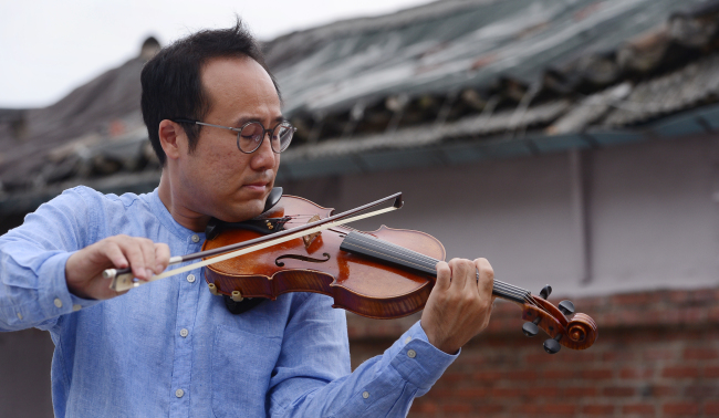 Won Hyung-joon leads the Lindenbaum Festival Orchestra and hopes one day to perform together with North Korean musicians.